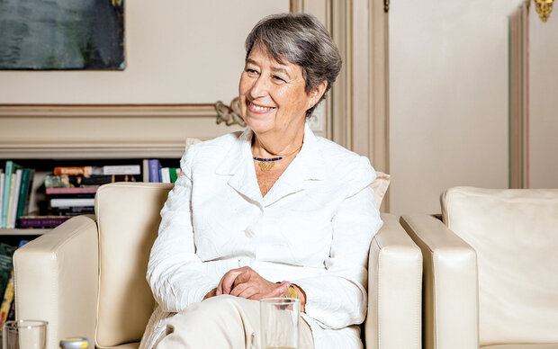 Margit Fischer im MADONNA-Talk
