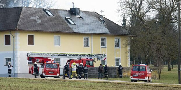 Brand: Nachbar rettet Familie