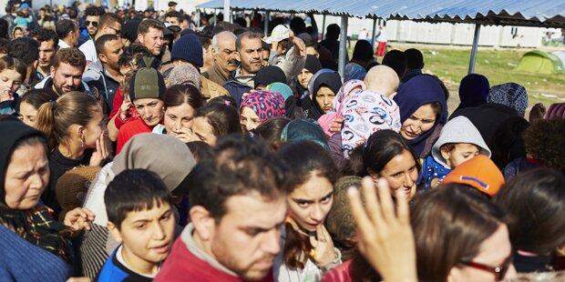 IOM: Sieben Mal mehr Flüchtlinge als 2015