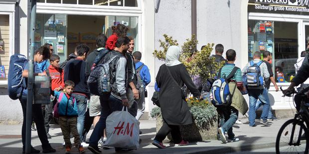 Flüchtlinge Salzburg