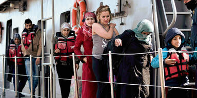 Türkei nahm 72 Flüchtlinge zurück
