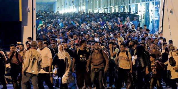 200.000 Flüchtlinge am Weg in die EU