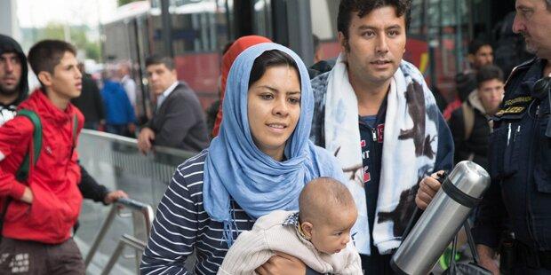 Flüchtlingsstandorte werden winterfest gemacht