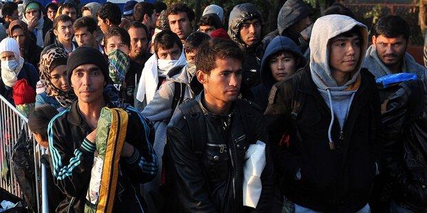 Marke von 1 Mio. Flüchtlingen überschritten