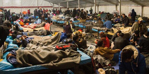 Brutale Massenschlägerei unter Flüchtlingen