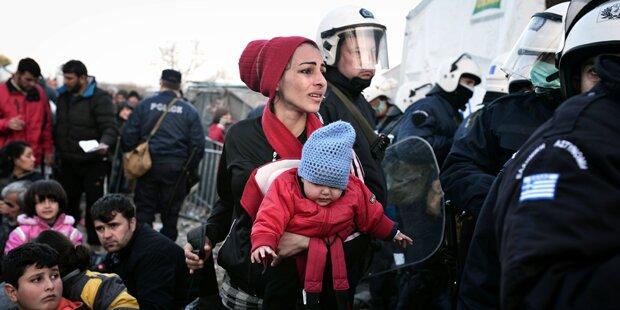 Zunehmende Zahl von Migranten in Friaul