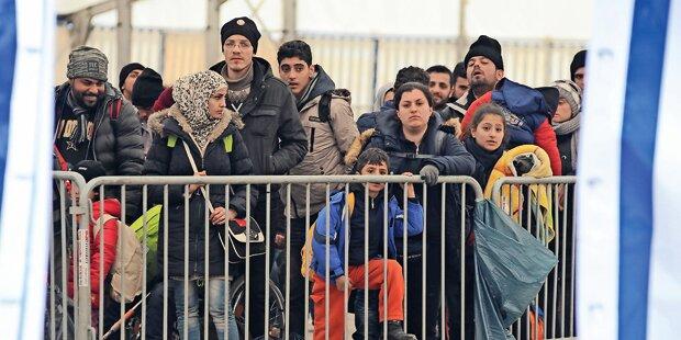 43% abgelehnter Migranten werden nicht abgeschoben