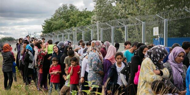 So viele Flüchtlinge wie 2016 gab es noch nie