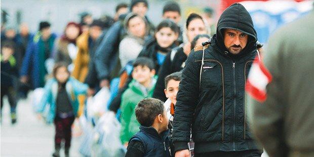 Asylsuchende ab fünftem Jahr Nettozahler