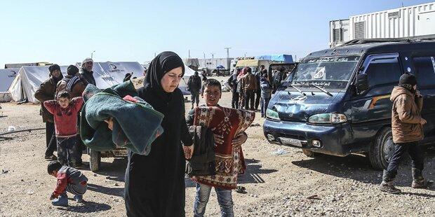 Syrien: Drei Tote bei Luftangriff