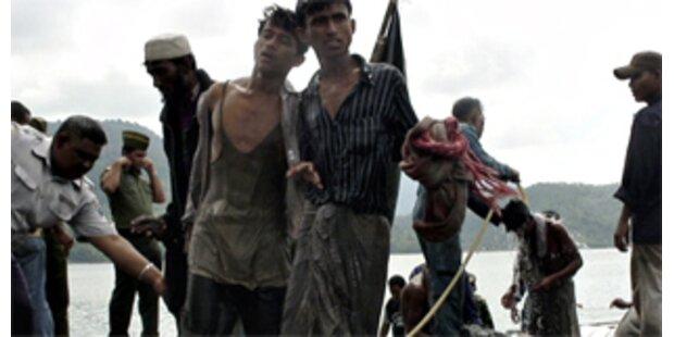198 burmesische Bootsflüchtlinge vor Aceh gerettet