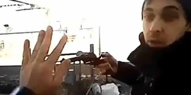 US-Cop filmte mit, wie er erschossen wurde