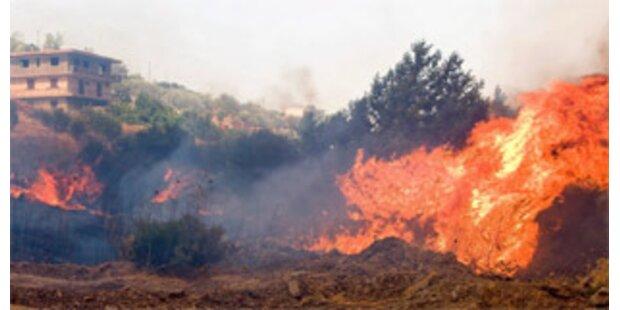 Flammeninferno bedroht Athen