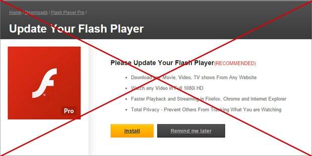 Adobe stellt Flash Player endgültig ein