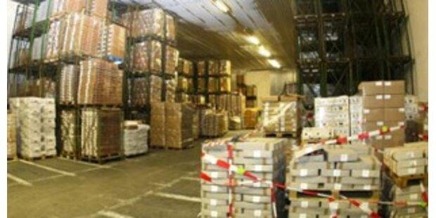 1.000 Tonnen Ekel-Lebensmittel entdeckt
