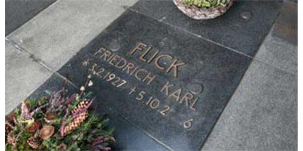 Flick-Sarg-Raub - Tat verjährt