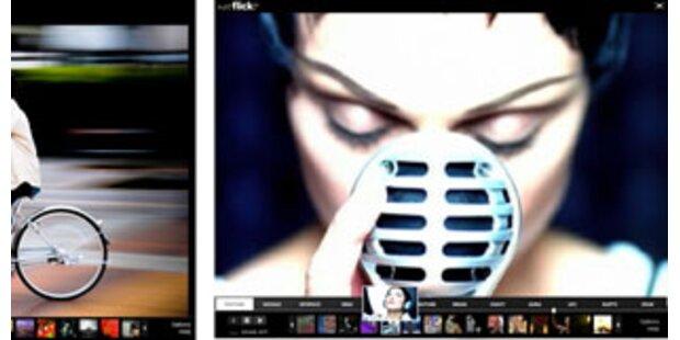 Yahoo erweitert Foto-Plattform Flickr um Filmclips