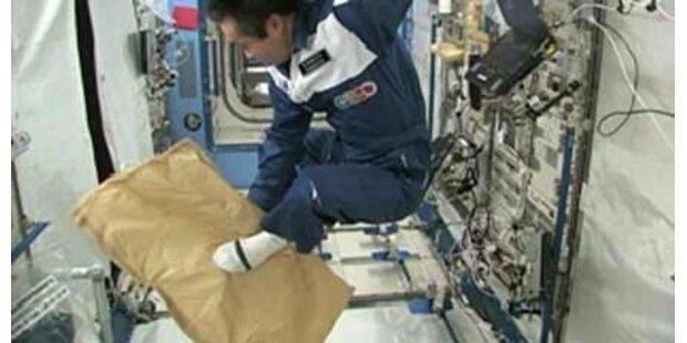Astronaut testet