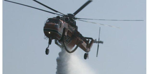 Bundesheer fliegt Hilfseinsatz bei Athen