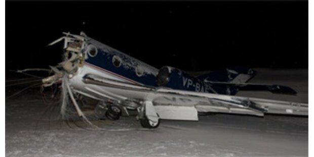 Passagierflieger legte Bruchlandung hin