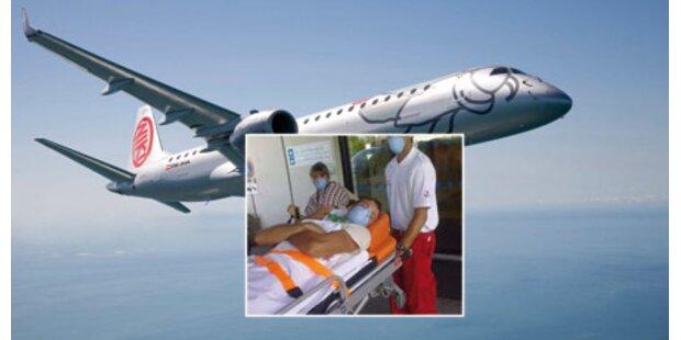 Erster Virus-Jet in Österreich