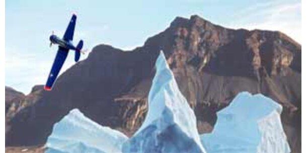 Unbemanntes Miniflugzeug erkundet Antarktis