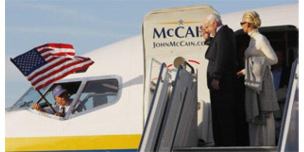 McCain entging Flugzeug-Unglück
