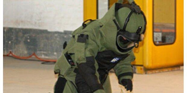Kindergarten wegen Fliegerbombe evakuiert