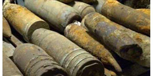 Mehrere Fliegerbomben freigelegt