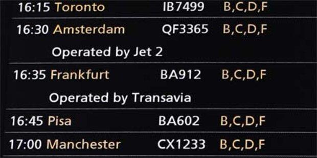 In 58 Stunden um die Welt geflogen