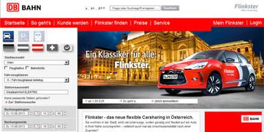 Carsharing-Anbieter Flinkster in Wien gestartet