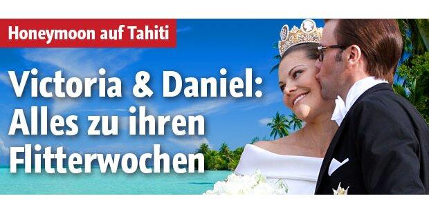 Victoria & Daniel flittern auf Tahiti