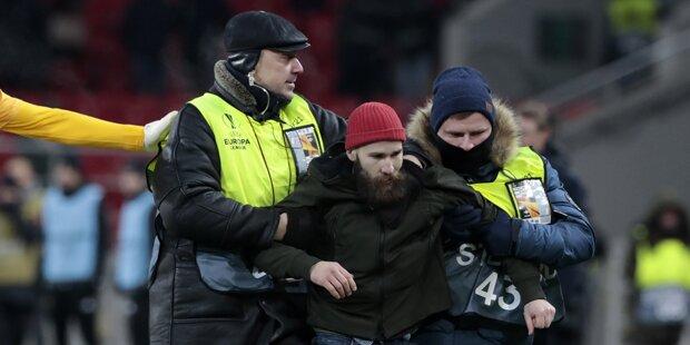 Schock: Flitzer attackierte Spartak-Kapitän