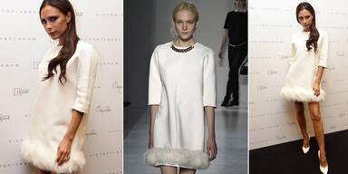 Flop: Victoria Beckham im Schwanen-Look