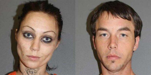 Drogenpaar saß 2 Tage in Kammer fest