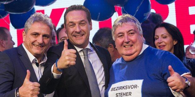 Auch Floridsdorf mit blauer Mehrheit