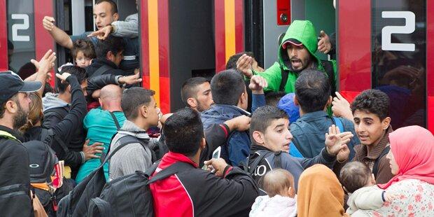 Berlin meldet 1,1 Millionen Flüchtlinge