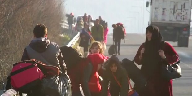 Zu wenig Spenden: Morddrohung von Flüchtlingsfamilie