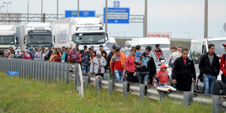Österreich soll 3.640 Flüchtlinge aufnehmen