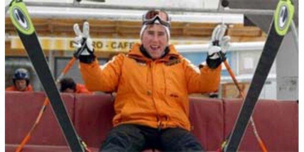Deutscher stand in Tirol 264 Stunden auf Ski