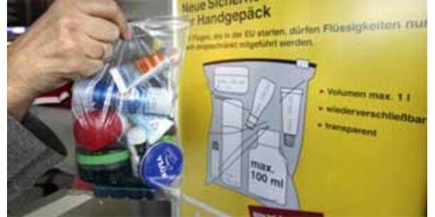 Flüssigkeitsverbot bleibt bis April 2013