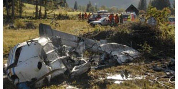 Abgestürztes Flugzeug in Salzburg war zu schwer