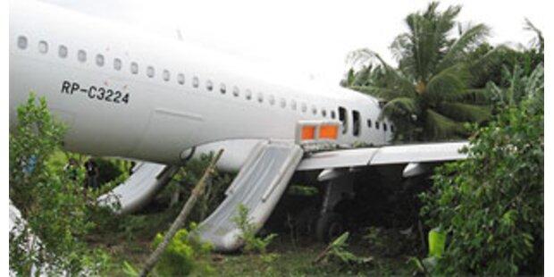 34 Verletzte bei Airbus-Crash auf Philippinen