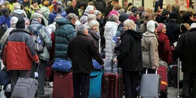 Schneechaos: Österreich macht's besser