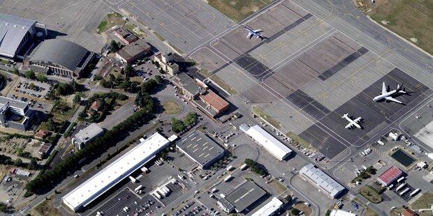 Französischer Flughafen evakuiert