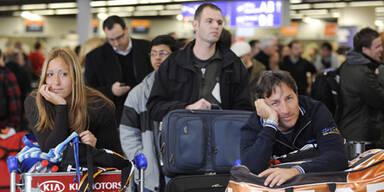 Schnee legte Europas Airports lahm