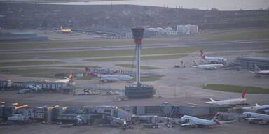 80 Flüge von und nach London gestrichen