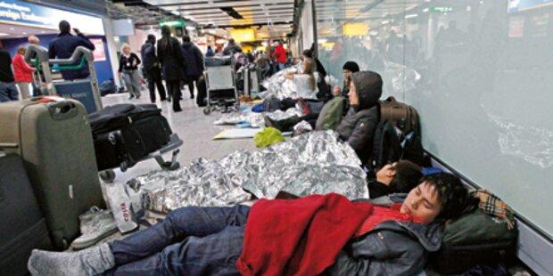 Hunderte Österreicher gestrandet