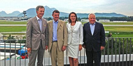 Salzburg und Bayern zufrieden mit Salzburger Flughafen