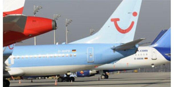 Warnstreiks auf deutschen Flughäfen am Mittwoch